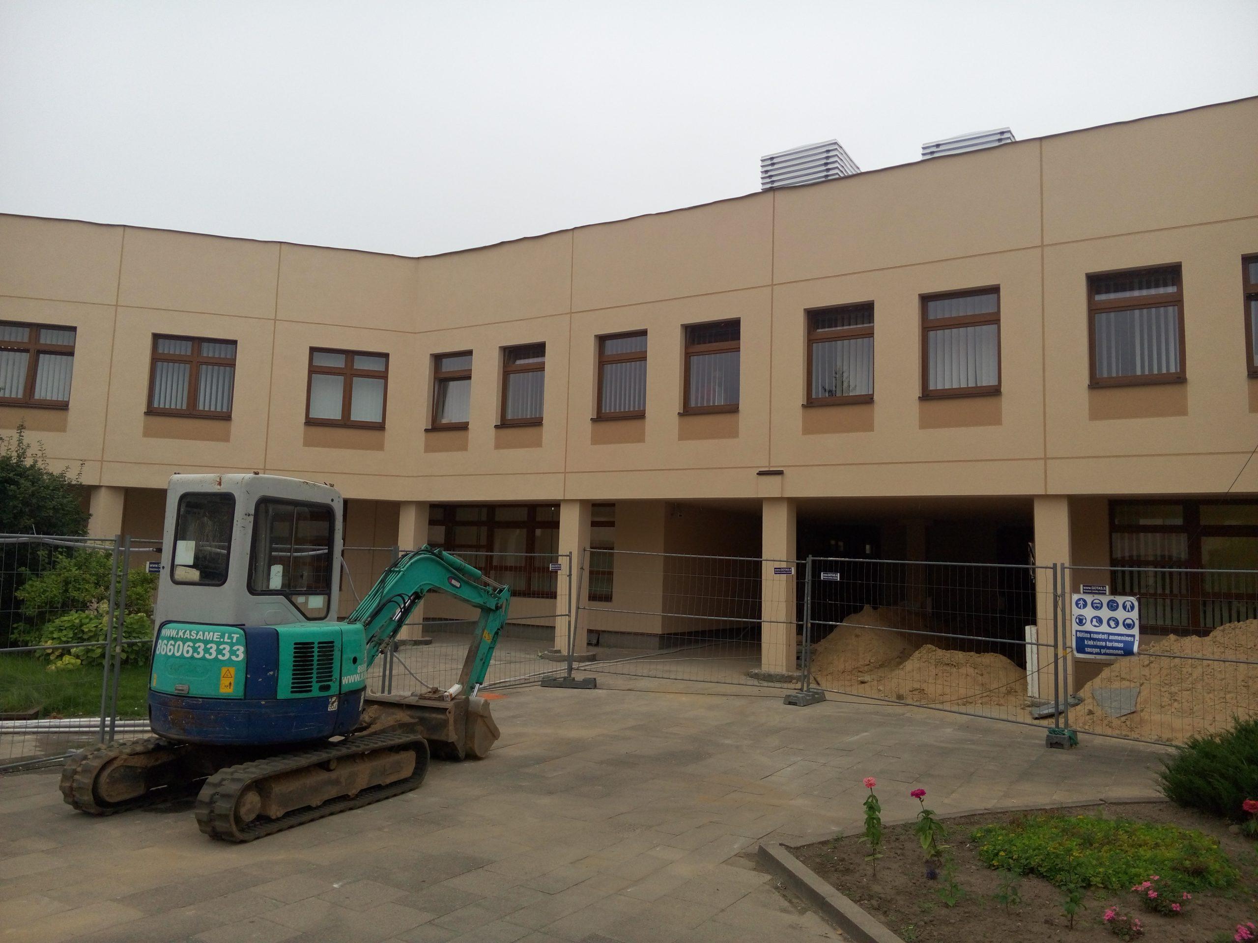 Vilniaus Fabijoniškių mokyklos modernizavimas