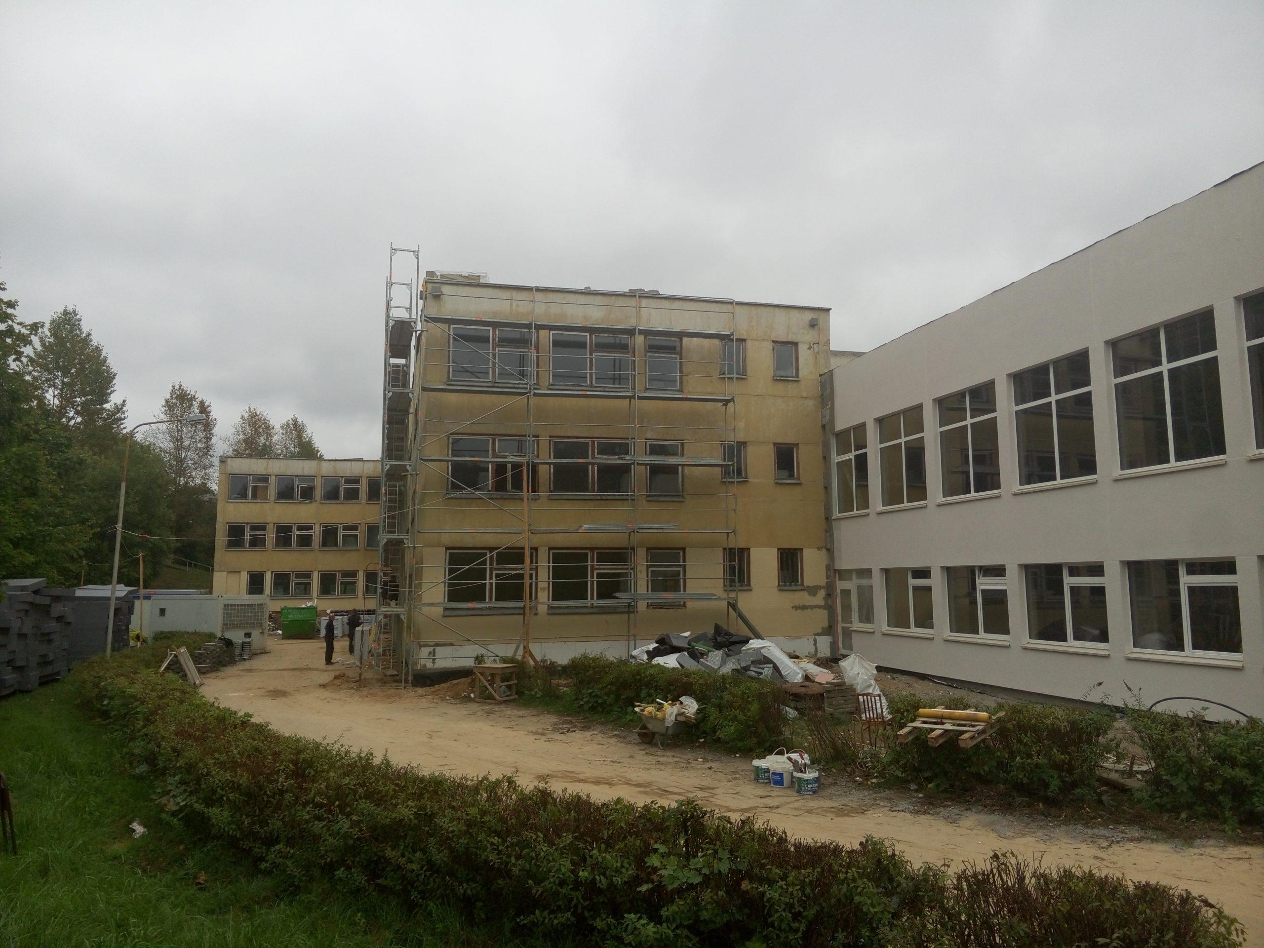 Vilniaus Saulėtekio mokyklos-daugiafunkcio centro modernizavimas