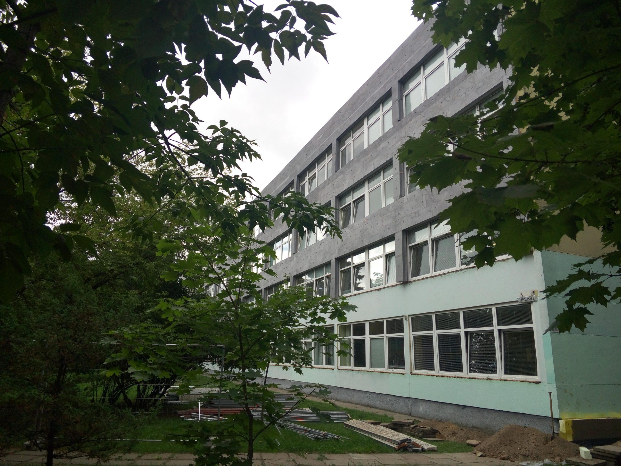 Vilniaus karaliaus Mindaugo mokyklos modernizavimas